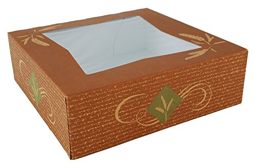 Auto-Popup Pie Cake Boxes with Window Bakery Cake Box 10