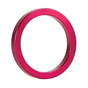 OUCH METAL COCK RING PINK