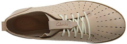 Clarks Scarpe Da Donna 26132527 Tri Etch Nude Pink Lea Beige