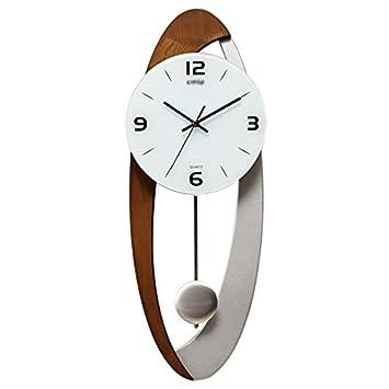 ZWL Uhren Und Uhren Creative Clock Art Pendel Uhren Hand Wanduhr Wohnzimmer  Uhr Modern Einfache Mode