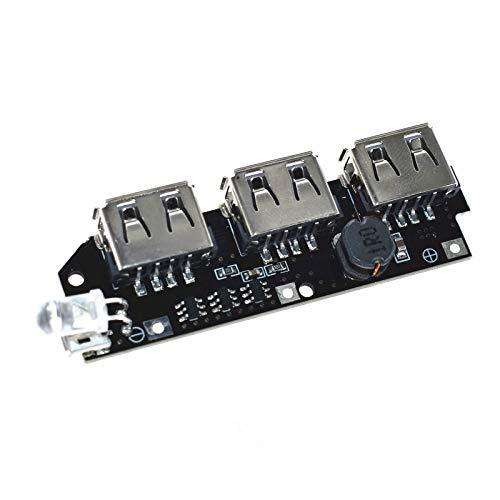 5V 1A 1.5A 2.1A 3 USB Power Bank Cargador Placa de ...
