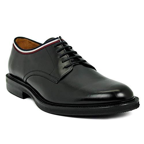 Cordones Cordones Negro Negro Piel Banda Piel Blucher Blucher Banda Blucher Banda Exf8q7HwHn