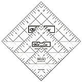 Bloc Loc~Half Square Triangle Ruler Set #4-1.5