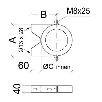 /Ø 113 mm Schiedel Prima Plus Wandhalter