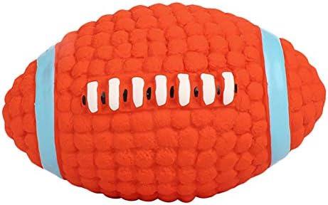 Cupcinu Juguete de Pelota para Mascotas Juguete de Rugby Molar ...