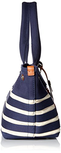 Marc by Marc Jacobs ST Tropez Tote Bag, New Prussian Blue/Ecru, One Size by Marc by Marc Jacobs (Image #3)
