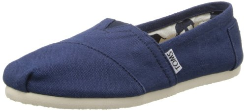 TOMS Womens Canvas Slip-On