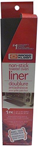 Range Kleen 671 Nonstick Reusable Toaster Oven Liner 11 Inch by 13 Inch