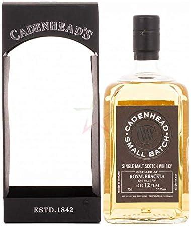 Cadenhead's Cadenhead's ROYAL BRACKLA 12 Years Old SMALL BATCH Single Malt Scotch Whisky 2006 57,7% Vol. 0,7l in Giftbox - 700 ml