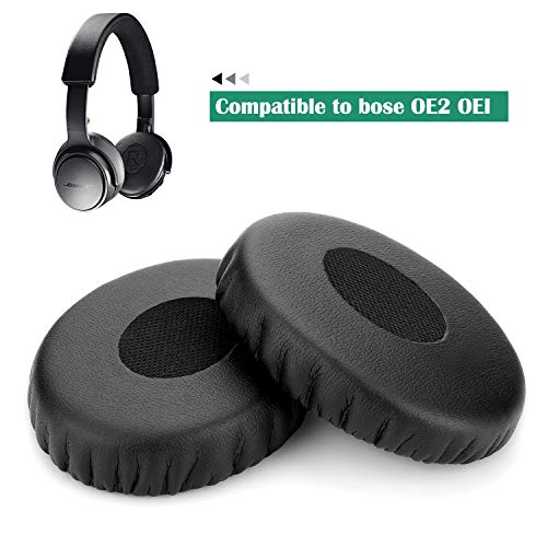 Replacement Earpads for Bose, WADEO Ear Cushions for Bose Headphones Ear Pad 2 Pieces Memory Foam Kit Ear Cover…