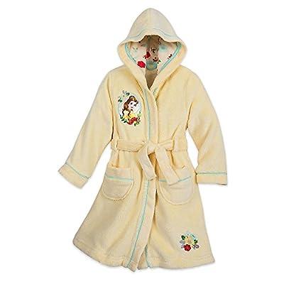 Disney Belle Fleece Robe for Girls Yellow