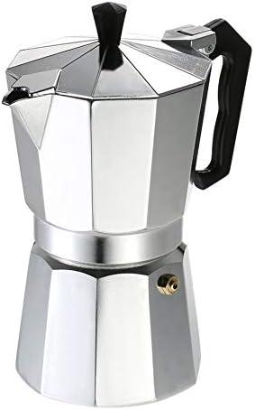 ClookYuan Cafetera de Aluminio 50Ml 1 Taza Cafetera Cafetera ...