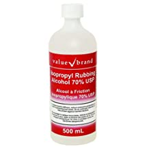 Isopropyl Rubbing Alcohol 70% Usp | Skin Disinfectant 500 Ml