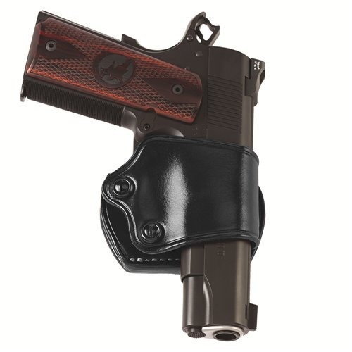 Galco Yaqui Slide Belt Holster for Glock 21, 20, 29, 30 S&W M&P, M&P Compact (Black, Right-Hand)