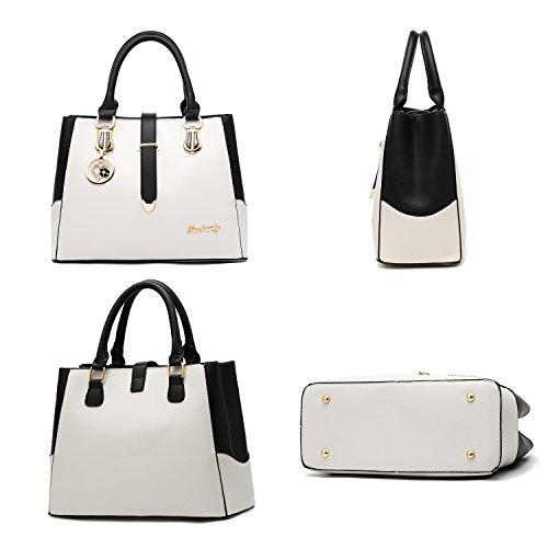 Stile Nuovo Retro Imbettuy Donna Borsa Messenger Spalla Casuale Sacchetto Bianco Modo Di 5qwdwUp