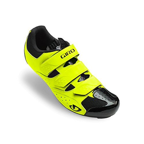 (Giro Techne Cycling Shoes - Men's Highlight Yellow 44)