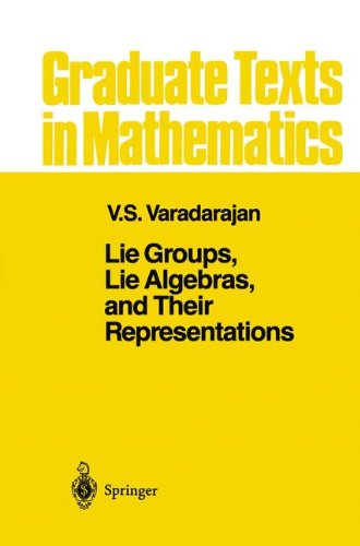 Lie Groups, Lie Algebras, and Their Representation (Graduate Texts in Mathematics, Vol. 102)