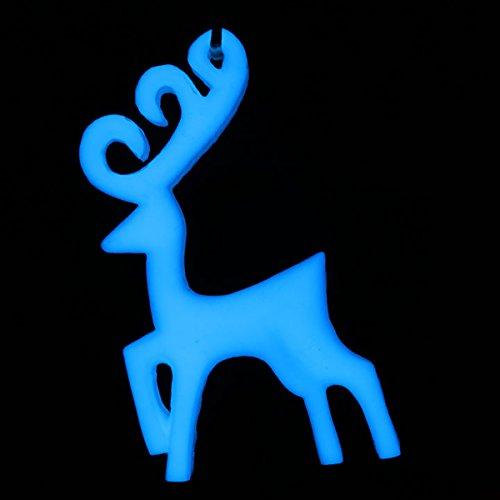 Blue Glow in the Dark & UV Reactive Pigment Powder - 500 Grams by Techno Glow Inc (Image #3)