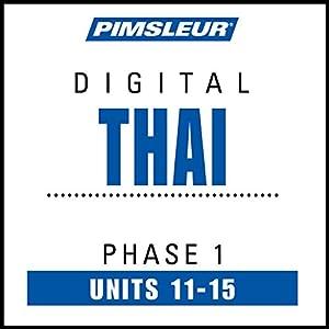 Thai Phase 1, Unit 11-15 | Livre audio