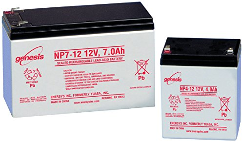 - NP24-12B - Rechargeable Battery, 12 V, Lead Acid, 24 Ah, Bolt (NP24-12B)