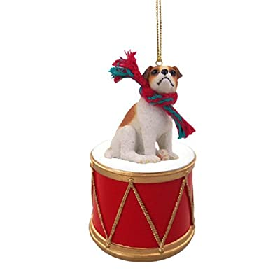 Animal-Den-Little-Drummer-Jack-Russell-Terrier-Christmas-Ornament-Hand-Painted-Delightful