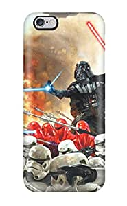 Ultra Slim Fit Hard Carlawn Case Cover Specially Made For Iphone 6 Plus- Star Wars Iphone