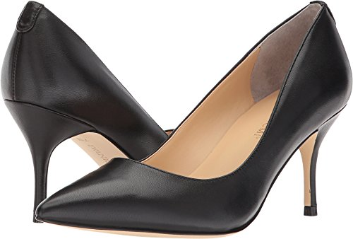 Ivanka Trump Womens Boni 7 Black Leather 8.5 M