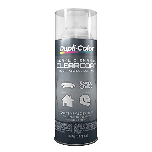 - Dupli-Color DA1692 Crystal Clear General Purpose Acrylic Enamel - 12 oz.
