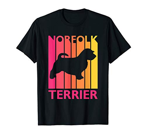Norfolk Terrier Shirt Vintage Dog Tshirt Gift for Dog Lover