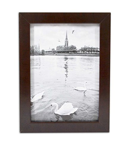 Golden State Art, Expresso Photo Wood Collage Frame with REAL GLASS (5x7) (Picture Frame Expresso compare prices)