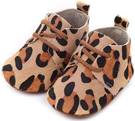 Bebila Leopard Print Baby Moccasins