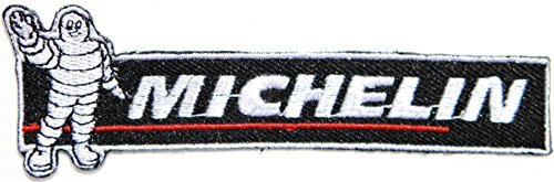 MICHELIN Man Tires Sponsor Car Motorcycles Racing Biker Motogp Motorcorss Jacket Logo shirt hat blanket backpack T shirt Patch Embroidered Appliques Symbol Badge Cloth Sign Costume Gift