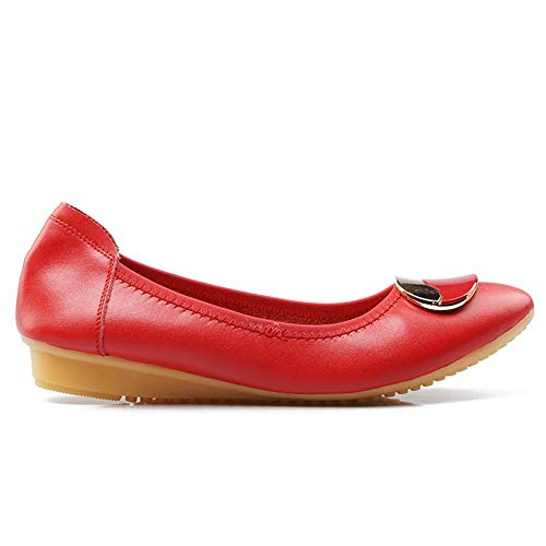 Compensées APL10696 BalaMasa Sandales Red Femme EU Rouge 5 36 PqnBwa4nx