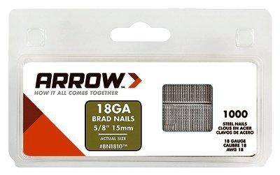 Arrow Fastener BN1810CS 10 Pack 5/8-Inch Brad Nail 1.000/Box by Arrow Fastener (Image #1)