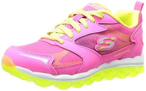 Skechers Skech AirBizzy Bounce - zapatilla deportiva de material sintético niña Neon Pink/Yellow