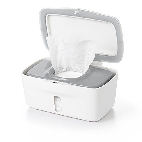 - OXO Tot Perfect Pull Wipes Dispenser, Gray