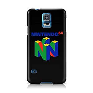 Hu Xiao intendo 64 N64 Retro Gaming System Full Wrap Rough case cover Skin, Fashion Design Image Custom , Durable Hard 3d case cover for Samsung Galaxy S5 Regular, Uu0y0KjT8Z4 case cover New Design By Art-print
