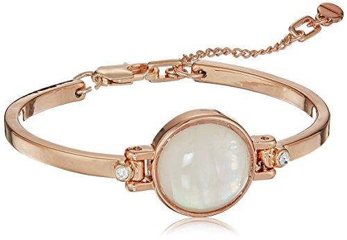Kenneth Cole Ladies Bracelet - Kenneth Cole New York Womens Blush Moonstone Flex Bracelet, Blush, One Size