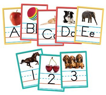 13 Pack EDUPRESS ALPHABET AND NUMBER ACCENTS 36