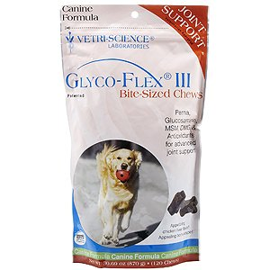 Vetri-Science Glyco-Flex III Bite-Sized Soft Chews for Dogs — 120 Chewables, My Pet Supplies