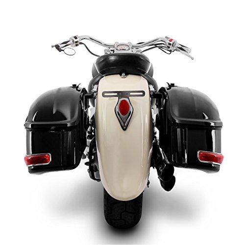 Alforjas rigidas DW 33l para Yamaha XVS 1100 A Drag Star Classic
