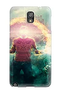 Awesome Cgi Photography Manipulation People Photography Flip Case With Fashion Design For Galaxy Note 3