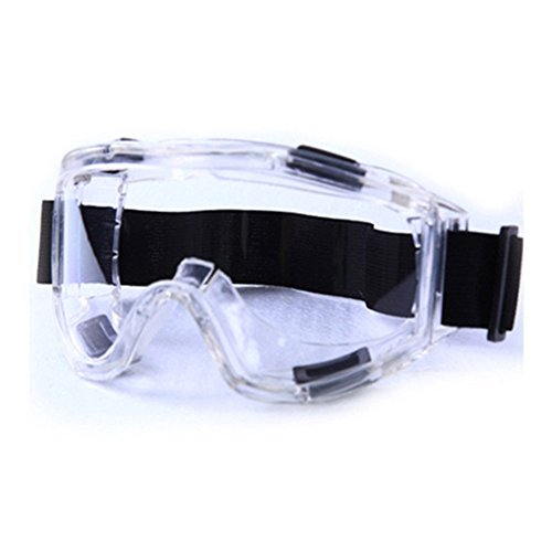 Daixers Anti-Fog Clear Lens Safety Goggle (White)