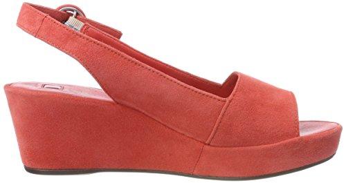 Sandales Orange 10 Plateforme Femme koralle Högl 5 3202 1qwCCS
