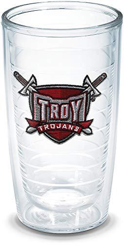 Tervis Troy University Sword Emblem Individual Tumbler, 16 oz, Clear - 1042954