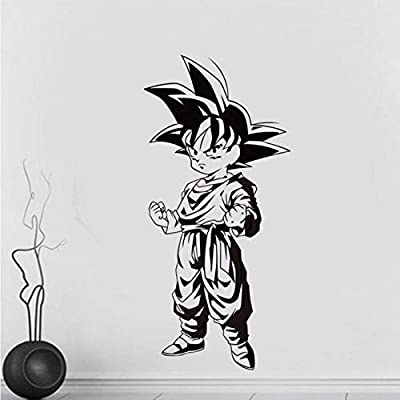 Dragon Ball anime japonés Goku Tatuajes de pared Dormitorio en ...
