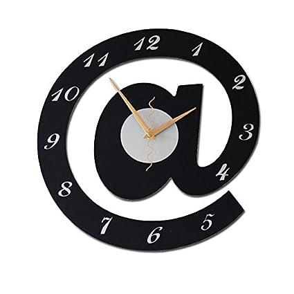 Vinteen Grandes @ Relojes y Relojes Personalidad Creativa Reloj de Pared de Arte de la Moda
