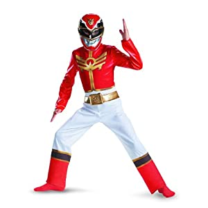 Power Rangers Megaforce Red Ranger Boys Classic Costume 7 8