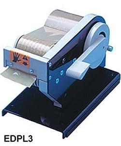MANUAL PRE-SET longitud dispensador de cinta adhesiva - para cinta de hasta 75 mm - Azul - EDPL1