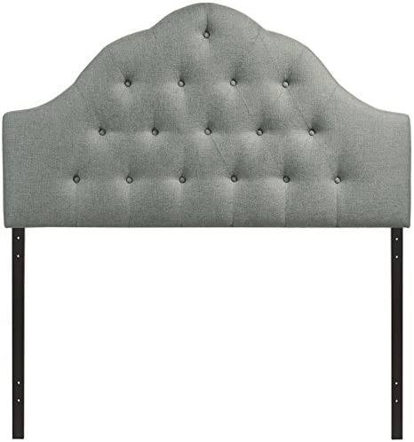 home, kitchen, furniture, bedroom furniture, beds, frames, bases, headboards, footboards,  headboards 4 on sale Modway Sovereign Tufted Button Linen Fabric Upholstered King deals